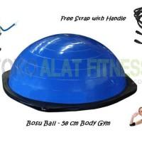 Terbaru 2017/18 Bosu Ball - Balance Ball Biru Body Gym Berkualitas