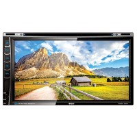 """VARITY VR-6993 - 6.95"""" Double Din DVD/TV Monitor Touch Screen"""