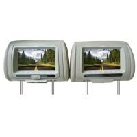 """THUMP TP-710HDTV DVD Headrest Monitor 7""""-BEIGE"""
