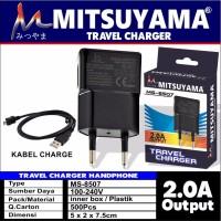 Travel Charger / Cas HP Handphone Samsung 2.0 A Mitsuyama MS-8507