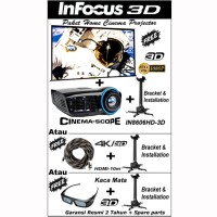 Infocus IN-8606 / IN8606 / IN8606hd / IN-8606 HD Projector Package