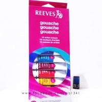 (Diskon) Reeves Gouache 12 Colours Set