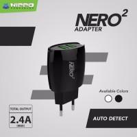harga Adaptor Charger Hippo Nero 2 Sp Usb Port 2.4 A Garansi Resmi Tokopedia.com