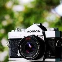 KONICA AUTOREFLEX T Lensa Pancake HEXANON AR 40mm f1 8 Canonet Canon