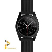 new Smart Watch GS3 Heart Rate Jam Smartwatch GS3 Full Black Anti Air