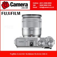 Fujifilm X-A3 Kit 16-50mm f3.5-5.6 OIS II - Silver /Fuj Diskon
