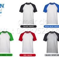 baru Gildan Raglan Kaos Polos Original Satuan Grosiran Murah Jakarta