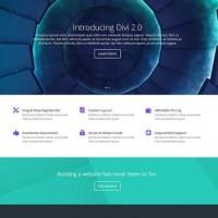 Elegant Themes Divi WordPress Theme v3.0.99