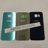 Backdoor Backcover Samsung Galaxy S 6 Flat Tutup battrey Samsung S6