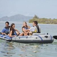 Perahu Excursion 5 Sport Five Person With Paddles& Pum - INTEX 68325