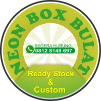 Neon Box Bulat Uk 80x80