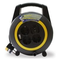 Kabel Roll Turbo 4 Lubang + Saklar 10M - YUNIOR LY 116 SK