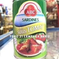 ABC Sardines Saus Tomat 425g   Sarden Saos Tomato Ikan Kaleng 425 g gr