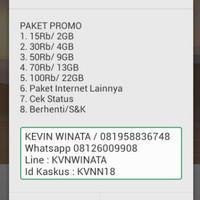 Jual Kartu Perdana Telkomsel Sakti Kuota Murah 8GB/50ribu Dial *363# Murah