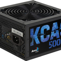 PSU AEROCOOL KCAS-500W-80 Plus Bronze-Fully Black Mesh cables-3 Year