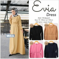 EVIA DRESS(gamis,gaun,baju pesta,kekinian,fashion wanita,baju remaja)
