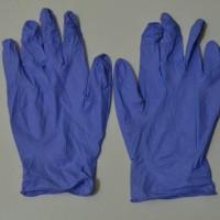 Sarung Tangan (Gloves) Karet Nitrile Eceran untuk Berkebun_Ungu_L