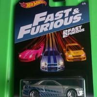 Hotwheels Nissan Skyline R34 Fast n Furious