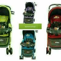 dorongan bayi pliko roda 4 PLIKO RAIDER STROLER B/S228
