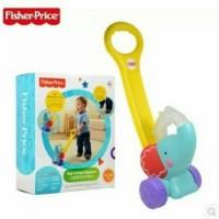 FISHER PRICE Infant Pop n Push Elephant