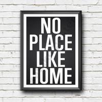 Hiasan dinding kata bijak / kata motivasi home sweet home