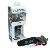 Microphone Rode Videomic With Rycote Lyre Suspension System