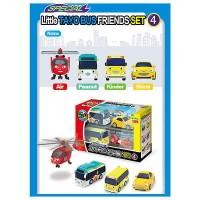 The Little Bus TAYO Mini FRIENDS Set No.4 Air Peanut Shine Kinder
