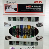 Obeng Set / Obeng Set Lengkap MeL-V 2488 / Obeng Set hp / Obeng Multi