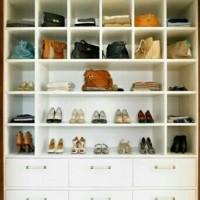 Lemari Rak Sepatu dan Tas Minimalis Custom