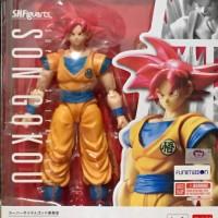 SHF limited SSG Son Goku (Super Saiyan God Son Goku)