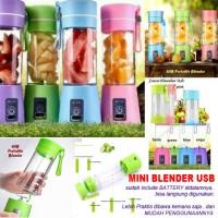 new shake n take portable rechargeable / blender mini / juicer mini