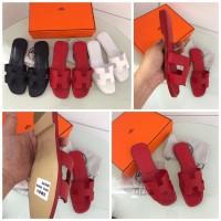 Jual JUAL MURAH sandal hermes mirror quality original leather asli kulit O  Murah ca465dd884