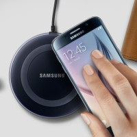 Charge Wireless Charger Stand Samsung Galaxy S7 Edge S8 Plus