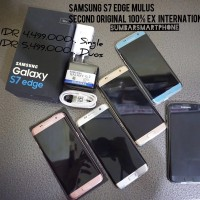 Samsung Galaxy S7 edge Duos 4G/LTE Second/Seken Ori Mulus Fullset