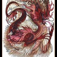 Tato/Tatto temporary/Tatto punggung/ 36x48 cm MB001