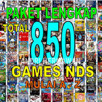 Paket Lengkap 733 Game nds, Games Nintendo DS