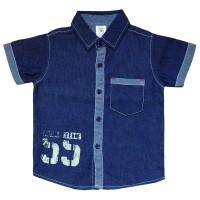 Al3 Macbear Kids Baju Anak Kemeja Denim East Team 55