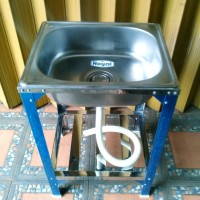 Bak Cuci Piring Kaki / Kitchen Sink Stainless Steel / Royal SB 42 K