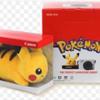 Boneka Pokemon Pikachu Canon EOS