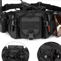 Tas pinggang  army pouch hp tactical multifungsi hauberk T08 Promo