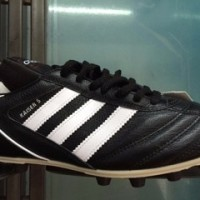sepatu bola adidas kaiser 5 liga made in germany black original 100