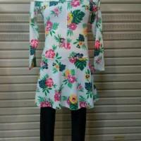 Baju Renang Muslim Bermotif/Remaja-Dewasa/size-M/L/XL