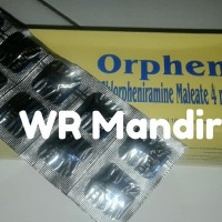 ORPHEN 4MG TABLET 1 STRIP ISI 10 OBAT ALERGI