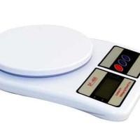 Timbangan Dapur Digital / Digital Kitchen Scale SF-400 10kg x 1gr