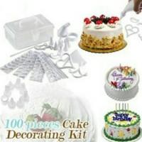 Harga 100 Piece Cake Decorating Kit DaftarHarga.Pw
