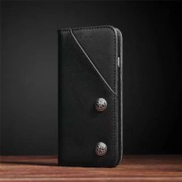 Flip Cover Vintage Leather Back Case Cover HP Samsung Galaxy S8 Plus