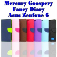 Case Hp Asus Zenfone 6 Mercury Goospery Fancy Diary