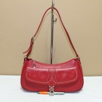 Tas branded BRAUN BUFFEL BB185 Red shoulder bag second original asli