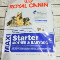 Royal Canin Maxi Starter Mother & Babydog 4 kg - Makanan Anjing