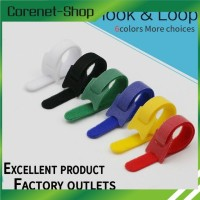 Kabel Ties Velcro Nylon double side Reusable 15cm warna